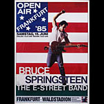 Bruce Springsteen and the E Street Band German Concert Poster