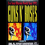 Guns N' Roses German Concert Poster