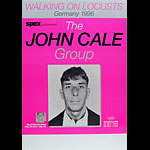 John Cale Group German Concert Poster