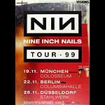 Nine Inch Nails German Concert Poster
