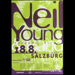 Neil Young Salzburg Poster