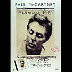 Paul McCartney Flaming Pie German Promo Poster