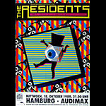 The Residents German Concert Poster