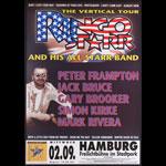 Ringo Starr German Concert Poster