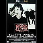 The Rolling Stones German Concert Poster