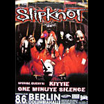 Slipknot German Concert Poster