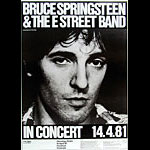 Bruce Springsteen German Concert Poster