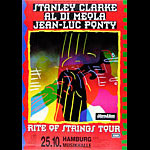 Stanley Clarke Rite of Strings German Tour Poster