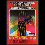 Stanley Clarke Rite of Strings German Tour Poster