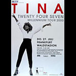 Tina Turner German Concert Poster