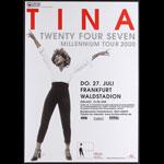 Tina Turner Twenty Four Seven Album Release German Concert Poster