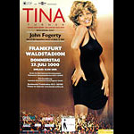 Tina Turner and John Fogerty German Concert Poster