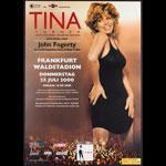 Tina Turner and John Fogerty Twenty Four Seven Album Release German Concert Poster