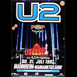 U2 Pop Tour German Concert Poster