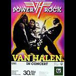 Van Halen German Concert Poster