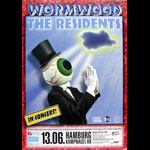 The Residents Wormwood Album Release German Concert Poster