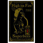 Darren Grealish High On Fire Poster
