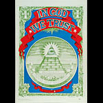 Rick Griffin In God We Trust Poster