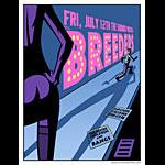 Justin Hampton The Breeders Poster