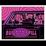 Justin Hampton Built To Spill Poster