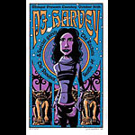 Justin Hampton PJ Harvey Poster