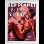 Justin Hampton Red Planet Poster