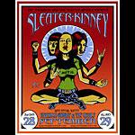Justin Hampton Sleater-Kinney Poster