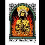 Justin Hampton Soundgarden Poster