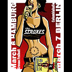 Justin Hampton The Strokes Poster