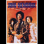 Jimi Hendrix Movie Japanese Handbill