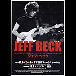 Jeff Beck Handbill