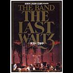 Japanese Last Waltz Handbill
