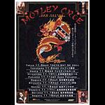 Motley Crue 2000 Japanese Tour Handbill