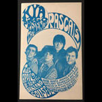 The Rascals 1968 Oakland Handbill