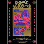 Hapshash and the Coloured Coat Jimi Hendrix Cosmic Visions Exhibition Poster