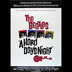 Beatles Hard Day's Night German Movie Poster