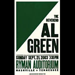 Hatch Show Print Al Green Poster