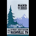 Hatch Show Print Band Of Horses Poster