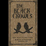 Hatch Show Print Black Crowes Poster
