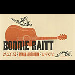 Hatch Show Print Bonnie Raitt Poster
