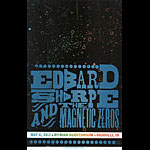 Hatch Show Print Edward Sharpe and the Magnetic Zeros Poster