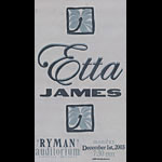 Hatch Show Print Etta James Poster
