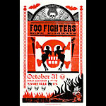 Hatch Show Print Foo Fighters Poster