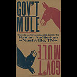 Hatch Show Print Gov't Mule Poster