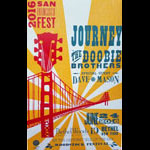 Hatch Show Print Journey with The Doobie Brothers Poster