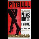 Hatch Show Print Pitbull Poster