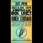 Hatch Show Print American Idol Live 2003 at BJCC Arena Poster