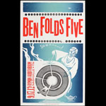 Hatch Show Print Ben Folds Five at Ryman Auditorium Poster