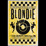 Hatch Show Print Blondie with X at Ryman Auditorium Poster