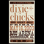 Hatch Show Print Dixie Chicks Poster